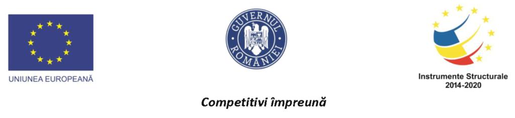 Uniunea Europeana. Guvernul Romaniei. Instrumente Structurale 2014-2020. Competitivi impreuna.